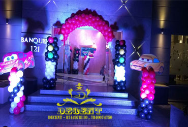Car Theme Birthday party organisers in Noida